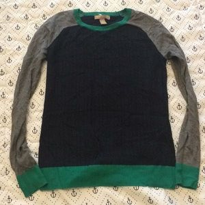 Banana Republic cable knit sweater Small